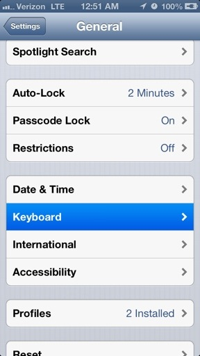 how to change a word in caps lock