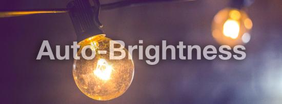 auto-brightness