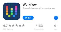 download workflow app